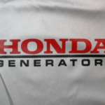 Honda Generator EU3000is Silver Cover