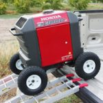 All Terrain Wheel Kit: The BEST for Honda EU3000iS Generator