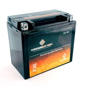 Chrome YTX9-BS Power Sports Battery