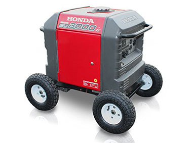 Honda EU3000iS All Terrain Wheel Kit
