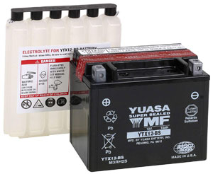 Yuasa YUAM3RH2S YTX12-BS